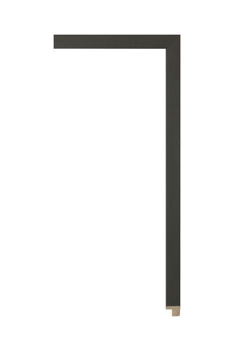 Houten lijst - PLUS - Mattzwart 14 mm breed