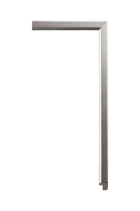 Houten lijst - PLUS - Zilver 12 mm breed